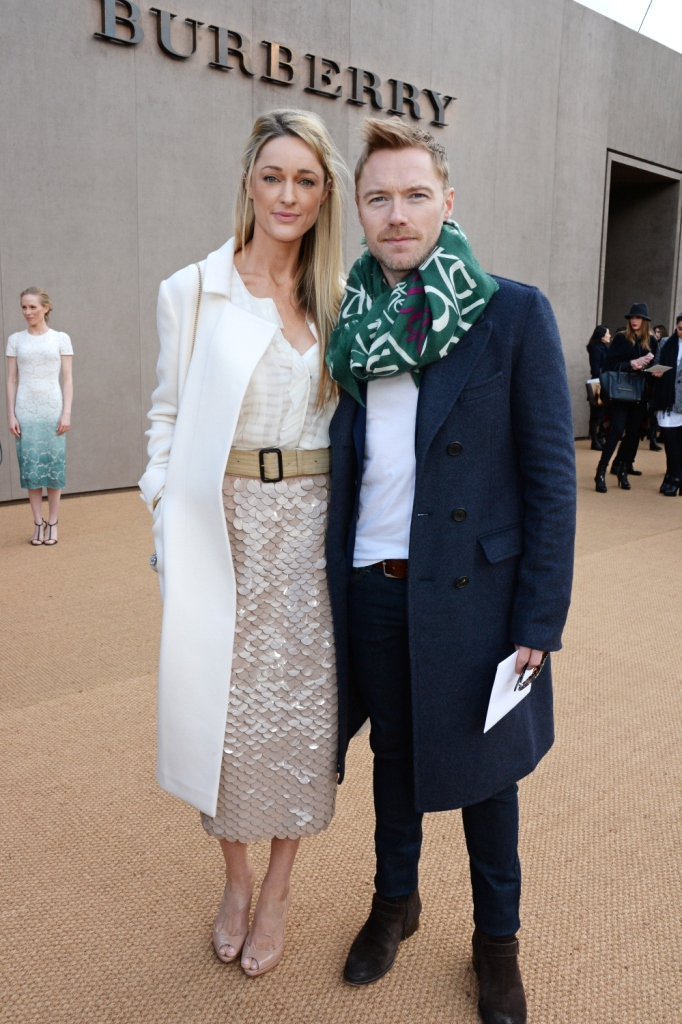 Ронан Китинг с женой