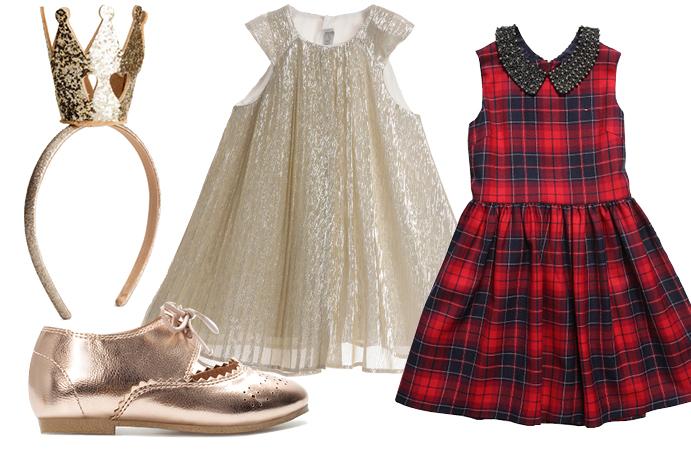 Выбор ELLE: ободок H&M, туфли Zara, платье Dior, платье Tommy Hilfiger