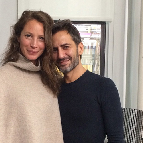 Кристи Тарлингтон и Марк Джейкобс