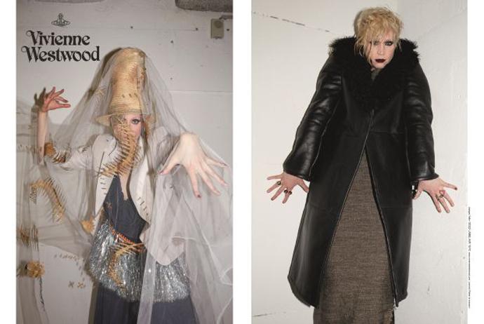 Рекламная кампания Vivienne Westwood с Гвендолин Кристи