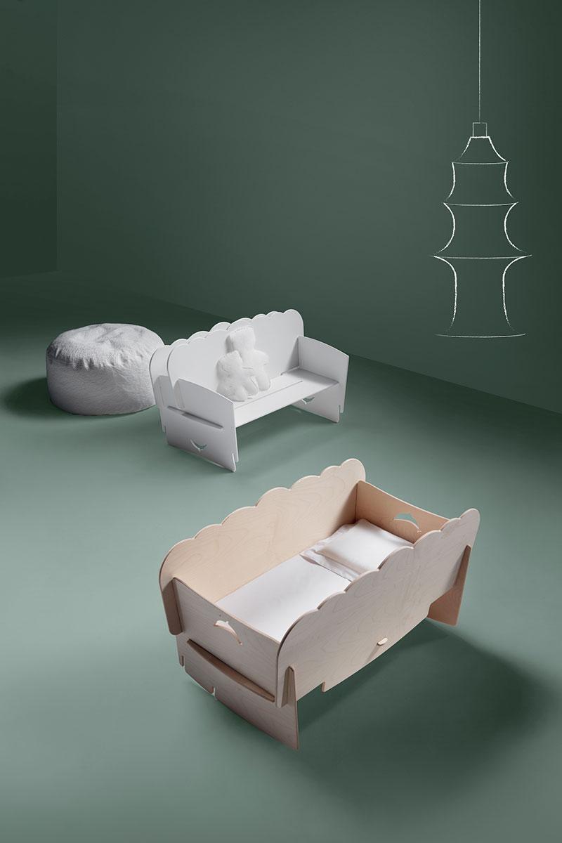 Кроватка-трансформер Delfina, Axil, www.axil.it, компания WWTS