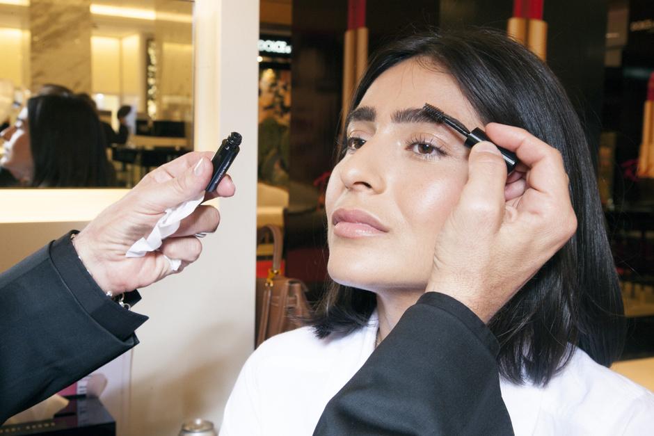 макияж брови