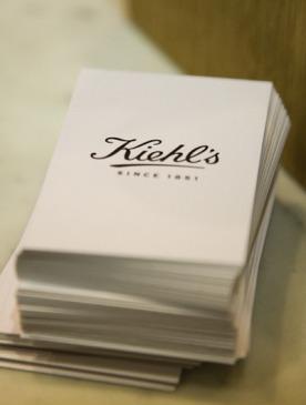 Буклет Kiehl's