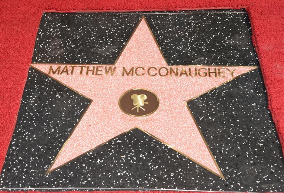 Мэттью МакКонахи получил звезду на Аллее славы в Голливуде
