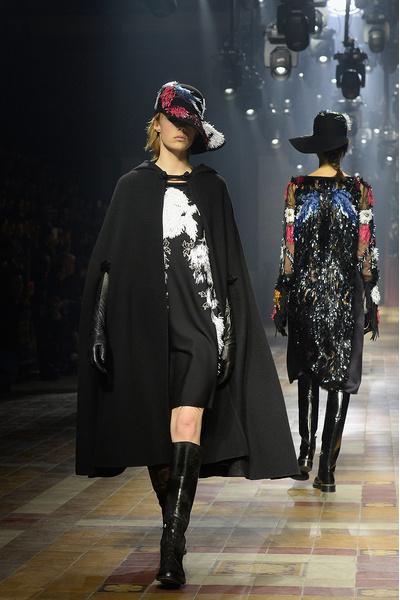 Показ Lanvin на неделе моды в Париже | галерея [1] фото [40]
