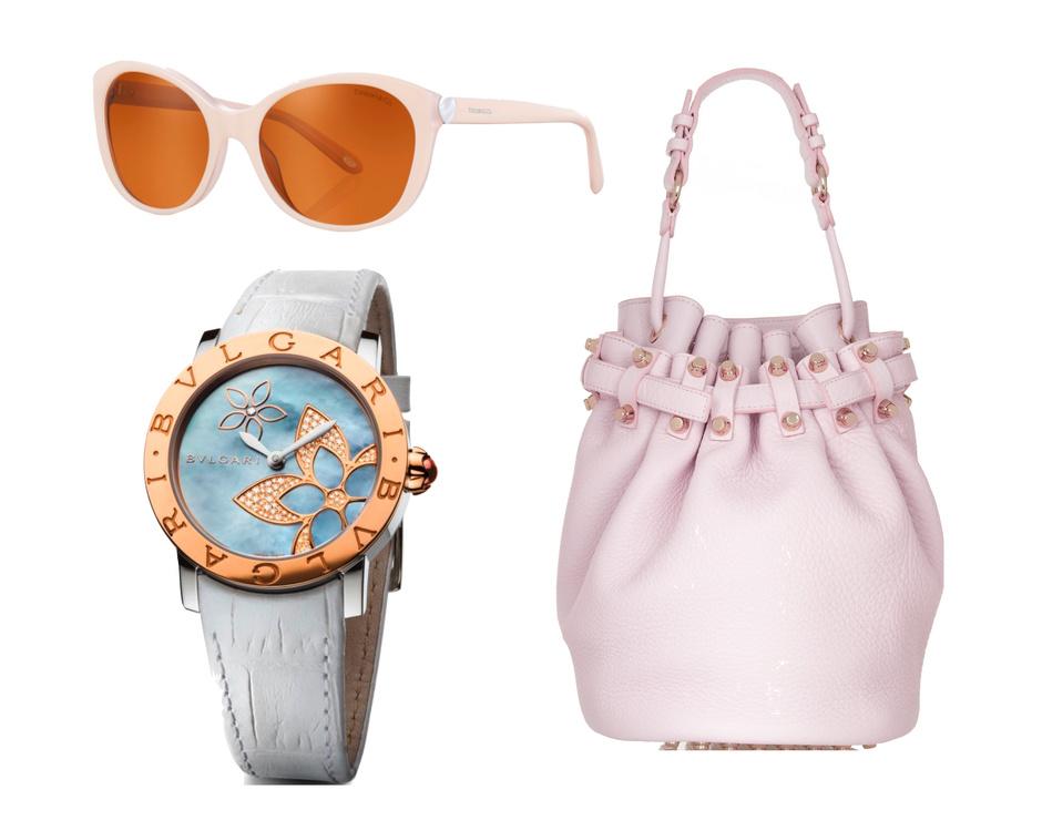 асы bvlgari, сумка alexander wang, солнцезащитные очки tiffany&co