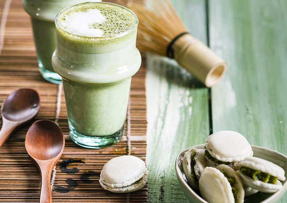 Фраппуччино из зеленого чая