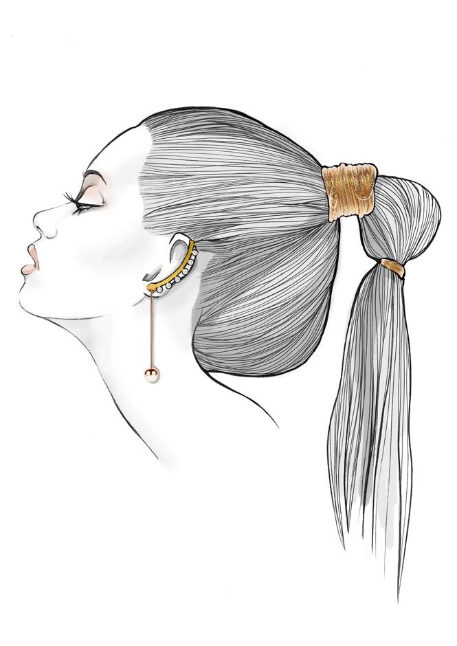 Как подобрать украшение для волос на вечеринку