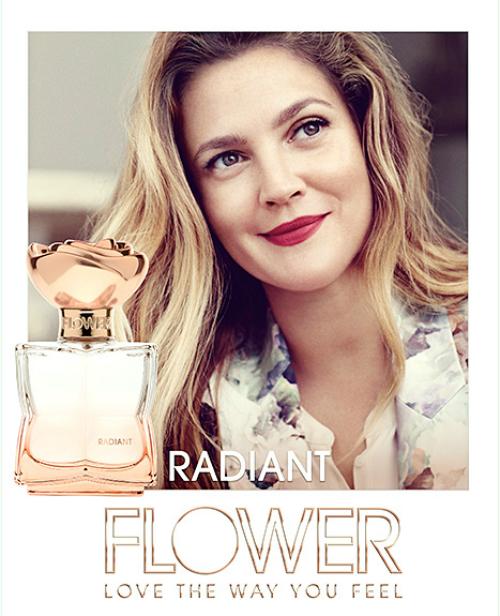 Рекламная кампания к новому аромату от Дрю Бэрримор