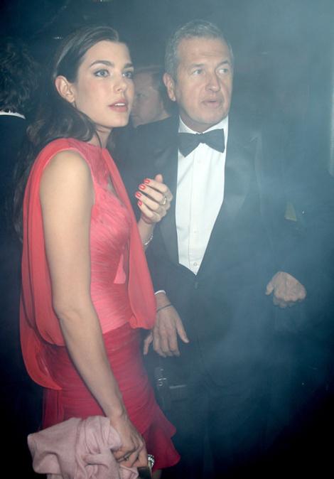 Шарлотта Казираги и Марио Тестино