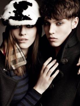 Реклама Burberry осень-зима 2011