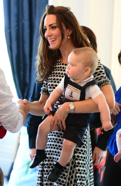 кейт миддлтон и принц георг фото