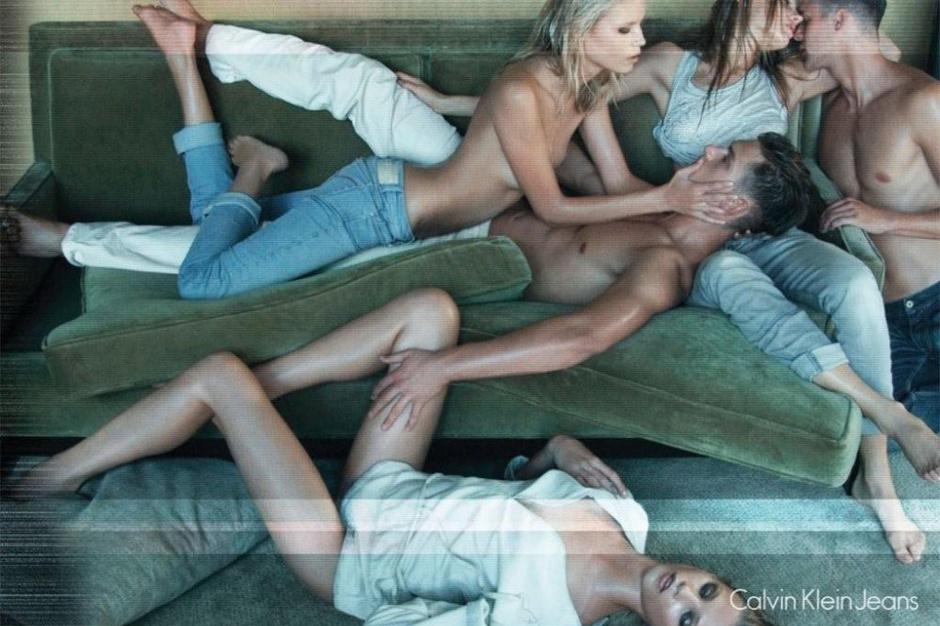 скандальные рекламные кампании Calvin Klein