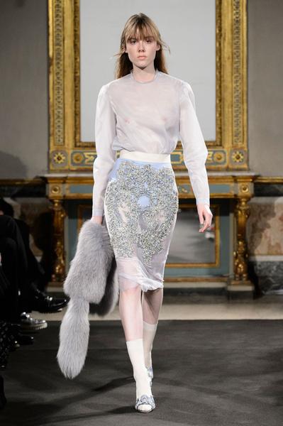 Самые красивые образы Недели моды в Милане | галерея [1] фото [2]