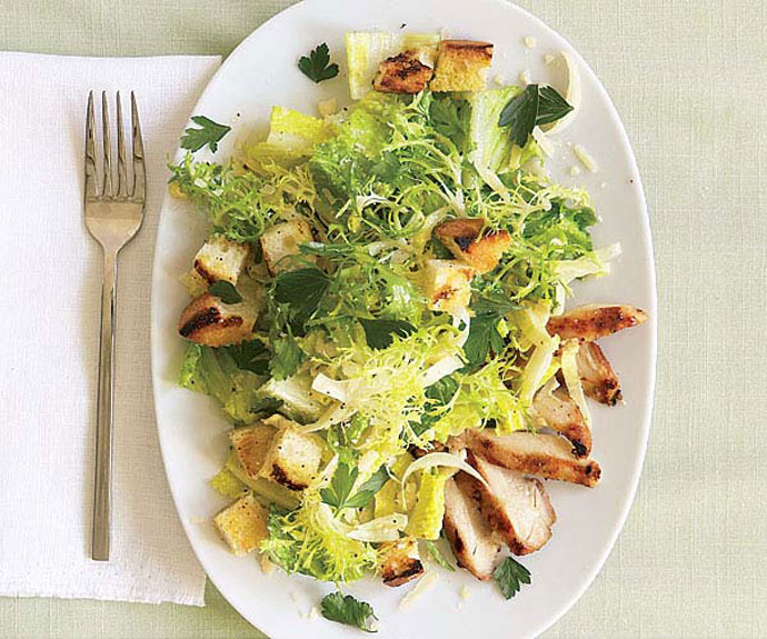 салат цезарь рецепт с фото с курицей