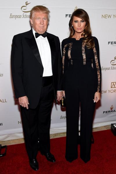 Дональд и Мелания Трамп