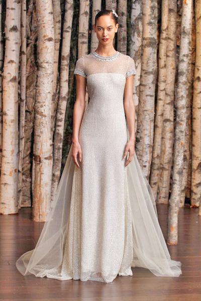 ЗАМУЖ НЕВТЕРПЕЖ: 10 самых красивых свадебных коллекций сезона | галерея [3] фото [14]