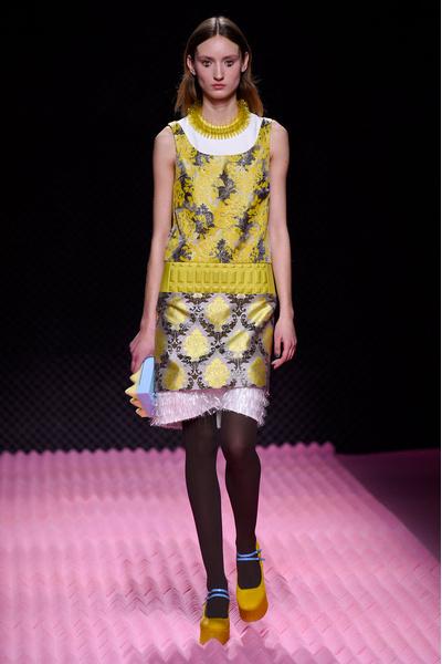 Показ Mary Katrantzou на Неделе моды в Лондоне | галерея [1] фото [22]