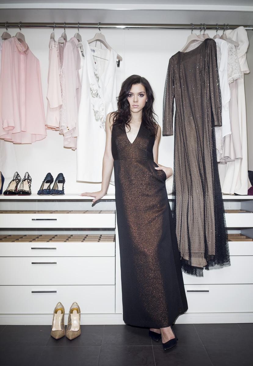 Платье, Alexander Terekhov; туфли, Dior