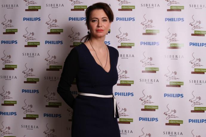 Актриса Ксения Лаврова-Глинка