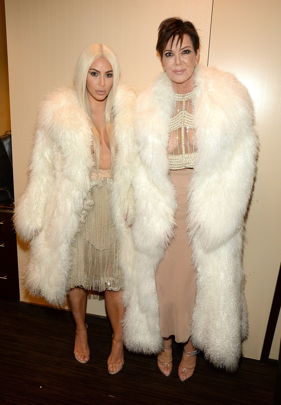 Ким Кардашьян с матерью Крис Дженнер