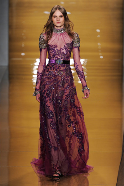 Black tie: показы Carolina Herrera, Reem Acra и Zac Posen на Неделе моды в Нью-Йорке | галерея [3] фото [6]