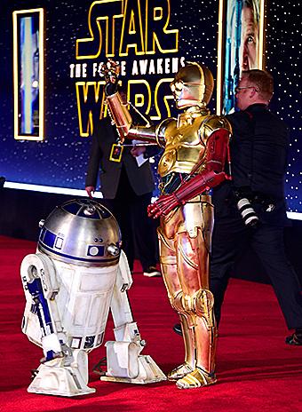 R2-D2 и C-PO3