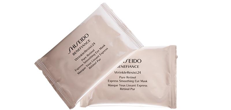 Разглаживающие патчи под глаза Wrinkle Resist 24, Benefiance, Shiseido