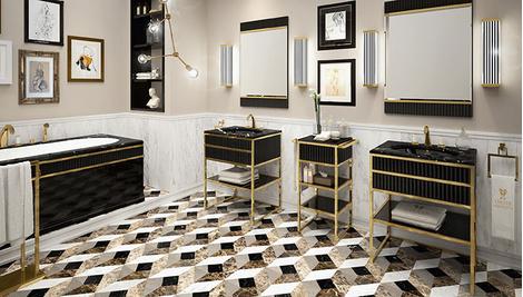 Новая коллекция мебели для ванной Academy от Oasis | галерея [1] фото [7]