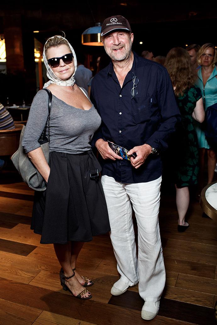 Леонид Ярмольник с супругой