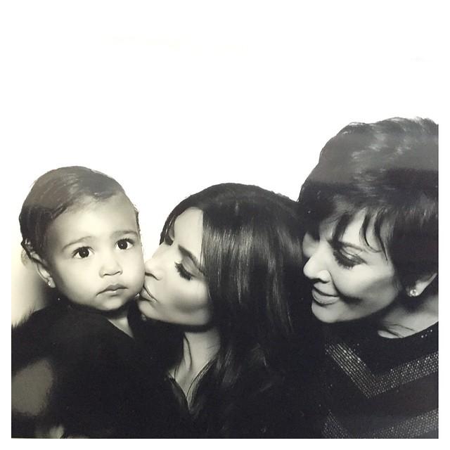 Ким Кардашьян с мамой Крис Дженнер
