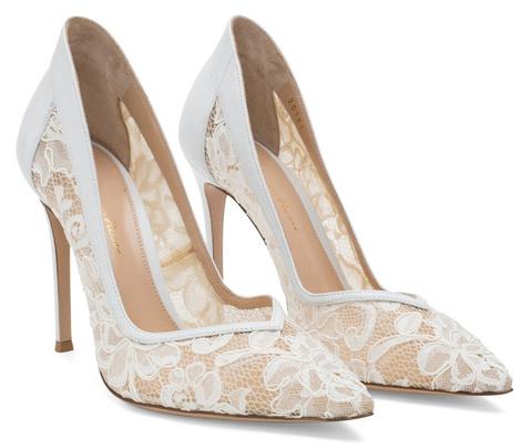 Известные дизайнеры создали свадебные модели обуви | галерея [1] фото [5]