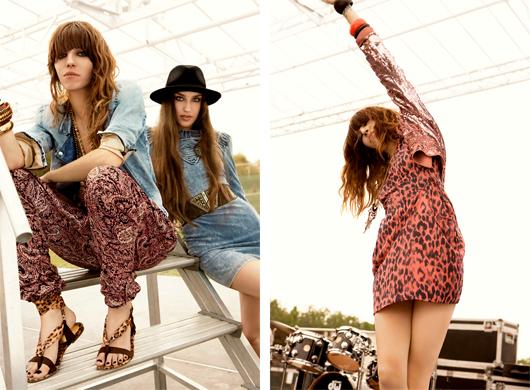 На фото: Фестивальная коллекция H&M