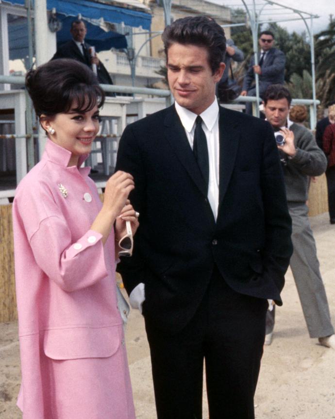 Натали Вуд и Уорен Битти, 1962