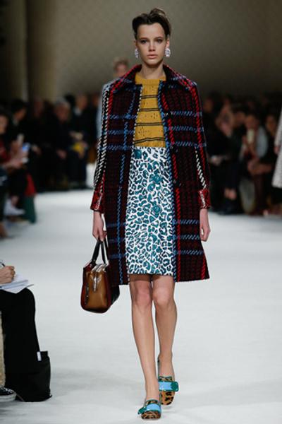 Неделя моды в Париже: показ Miu Miu pret-a-porter осень-зима 2015/16 | галерея [1] фото [30]