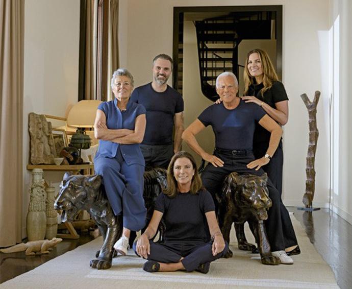 Семья Armani