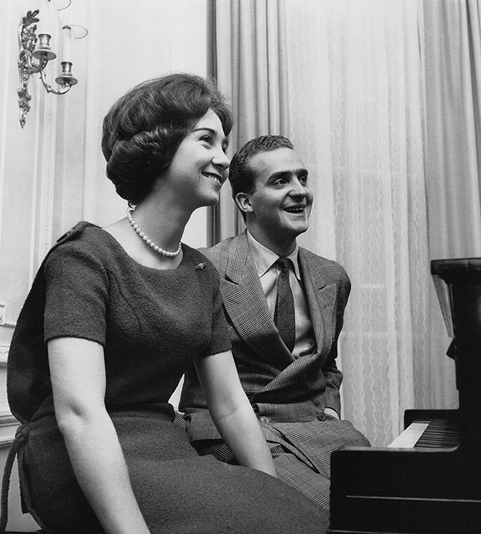 Хуан Карлос и София, 1962 год