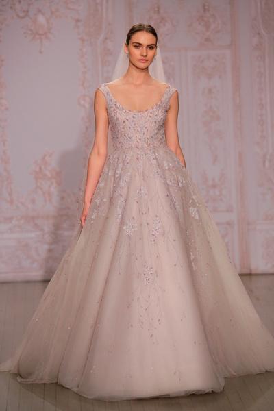 Monique Lhuillier представила свадебную коллекцию