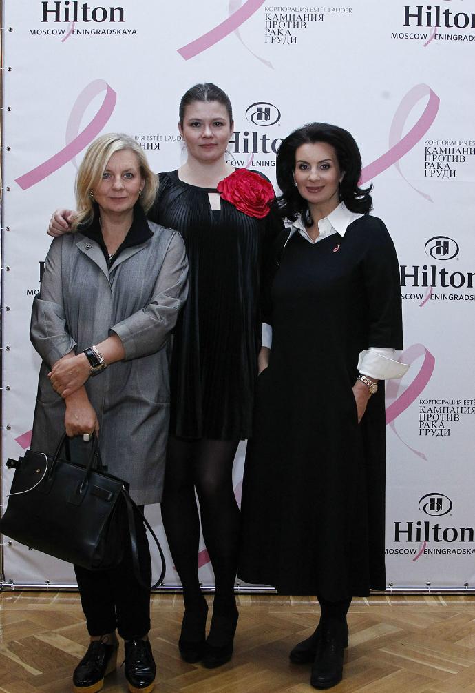 Виктория Андреянова, Екатерина Холопова, Екатерина Стриженова