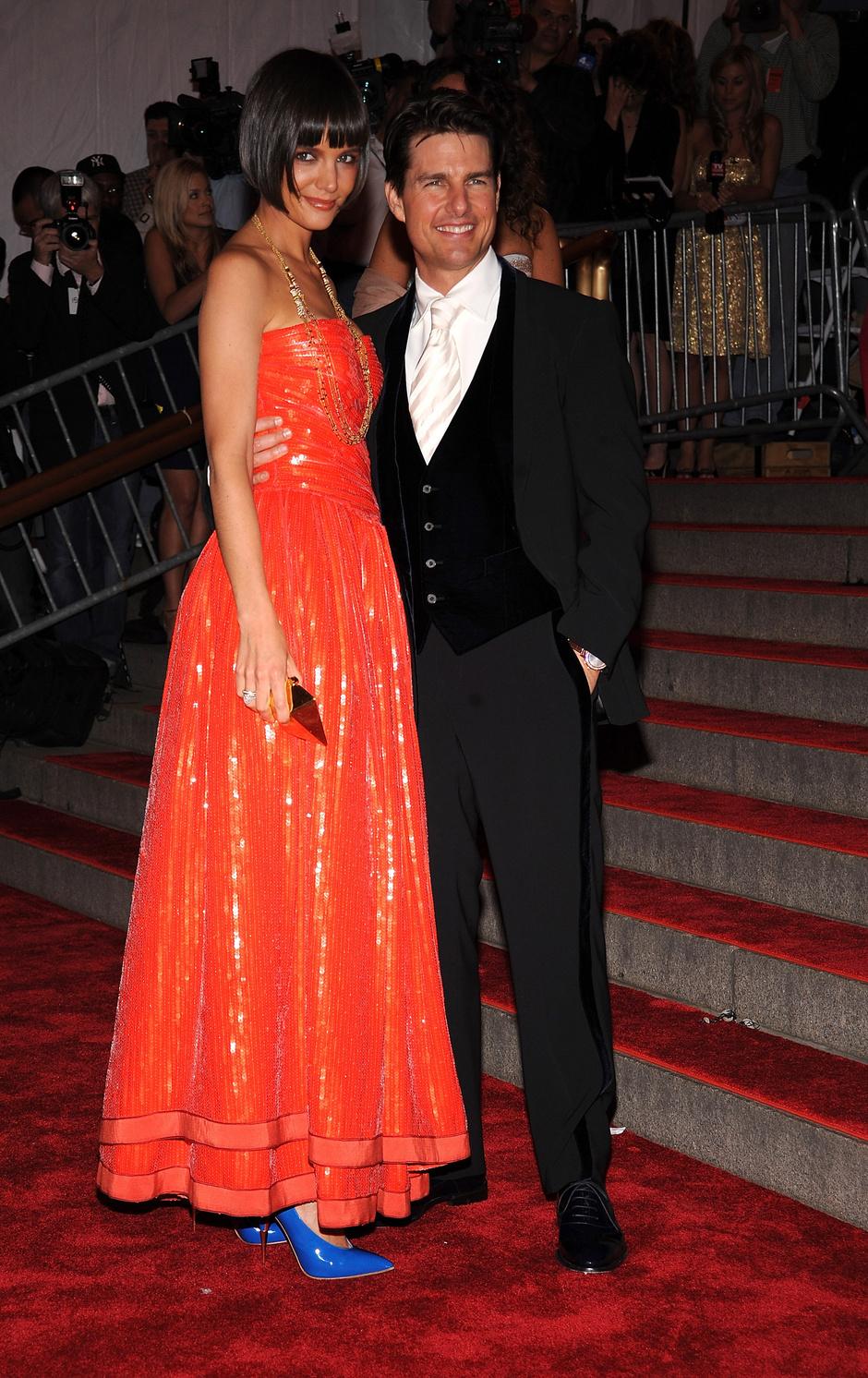 Кэти Холмс и Том Круз, 2008 год