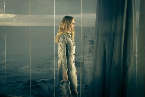 Дочь Шона Пенна Дилан стала лицом бренда Ermanno Scervino | галерея [1] фото [1]
