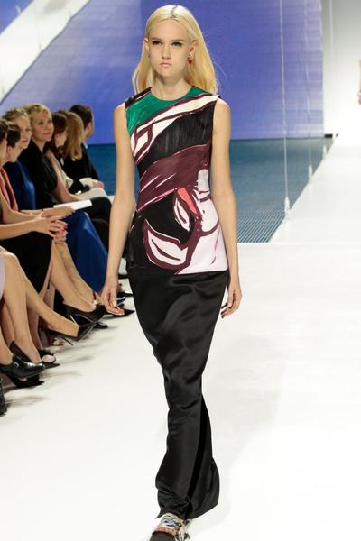 Показ круизной коллекции Dior 2015 года в Нью-Йорке