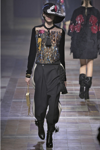 Показ Lanvin на неделе моды в Париже | галерея [1] фото [39]