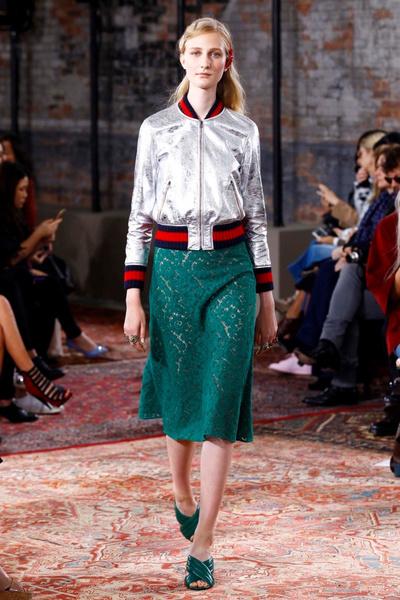Дом Gucci представил новую круизную коллекцию 2016 | галерея [2] фото [14]