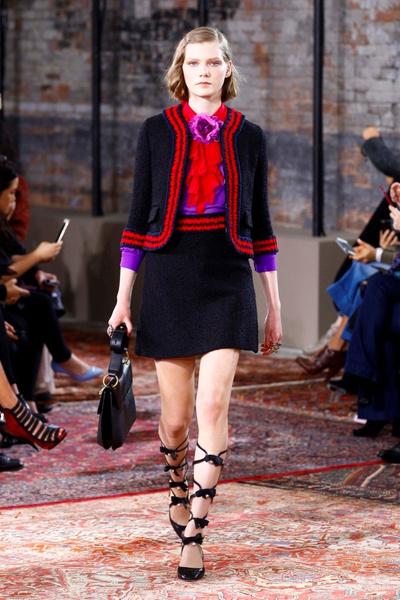 Дом Gucci представил новую круизную коллекцию 2016 | галерея [2] фото [54]