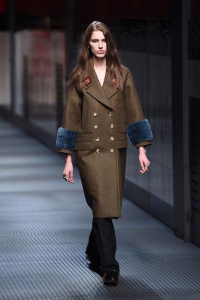 Показ Gucci на Неделе моды в Милане | галерея [1] фото [20]