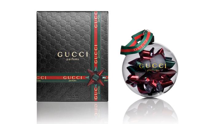 Новогодние игрушки от Gucci