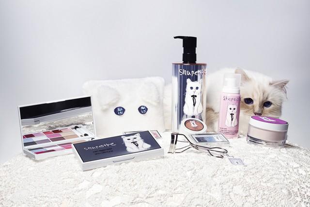Коллекция макияжа от Карл Лагерфельд и Shu Uemura