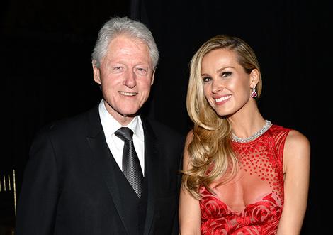 Билл Клинтон и Петра Немкова