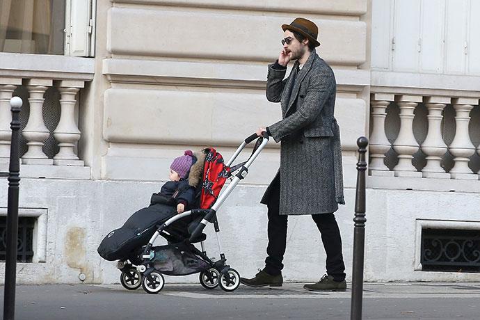 Том Старридж с дочерью